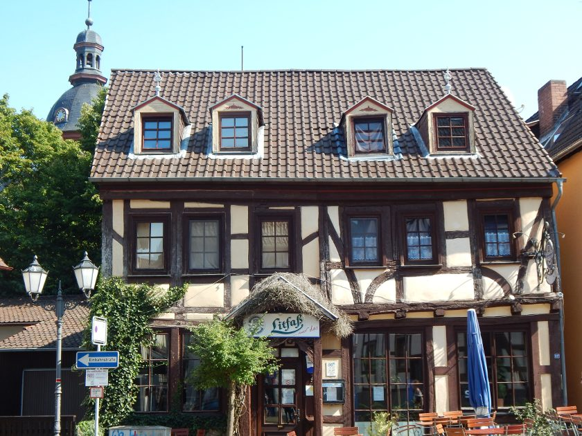 Kneipe Litfaß in Laubach