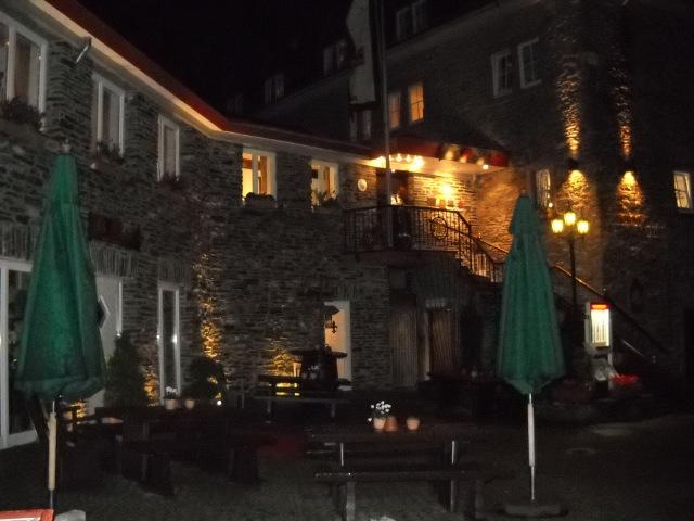 Abend auf Burg Schloss Rheinfels