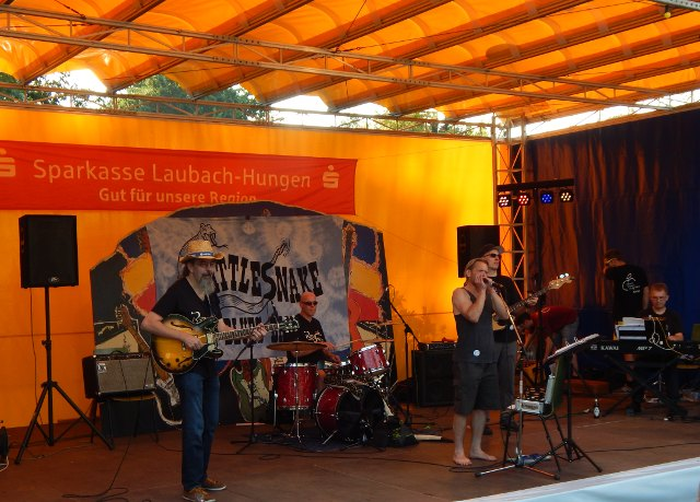 Gelbe Pagode Laubacher Bluesfestival Rattlesnake Bluesband Blues, Schmus, Apfelmus