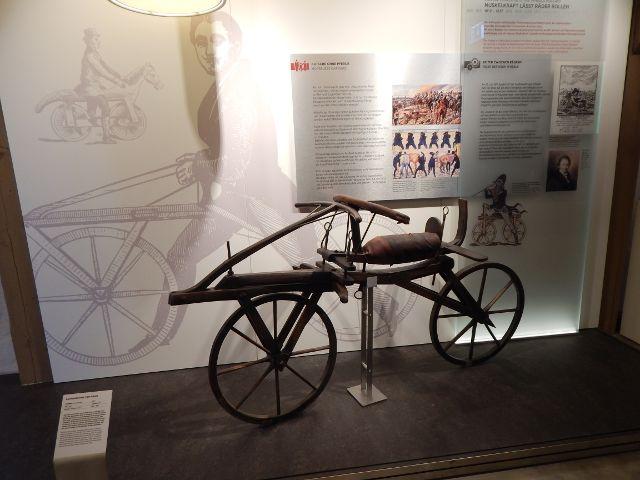 PS-Speicher Erstes Fahrrad zum Mitlaufen