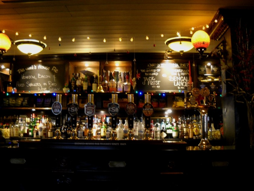 Londoner Pub Essen in London