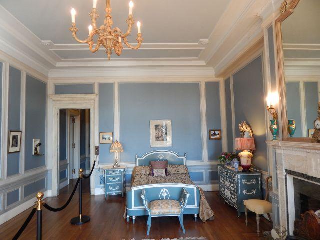 Casa Loma blaues Zimmer
