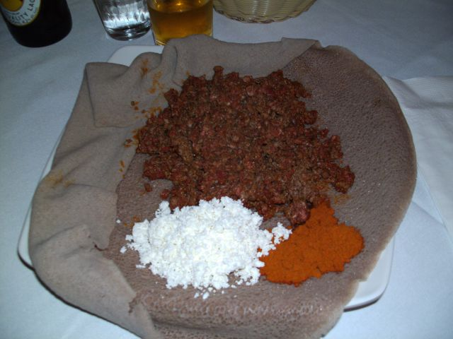 Äthiopische Küche Essen in Toronto