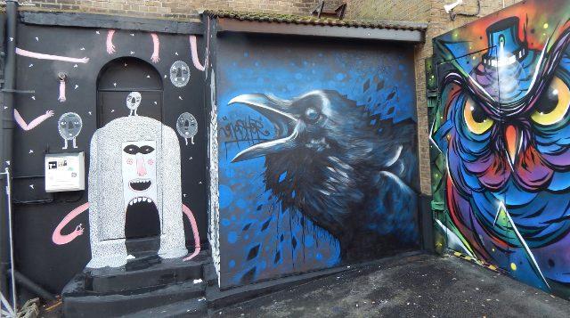 Camden Market Graffiti Kunst