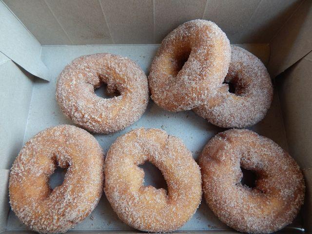 Günstig Essen in New York - Donuts bei Tim Horton.
