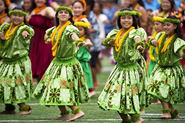 traditioneller Hula Hawaii