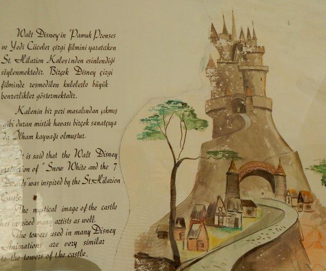 St. Hilarion Motiv für Disney?