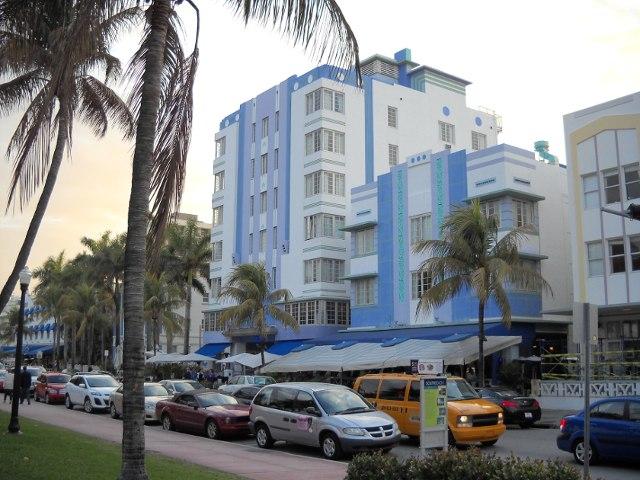 Miami Beach Art déco viertel