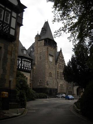Schlosshotel Kronberg Parkplatz