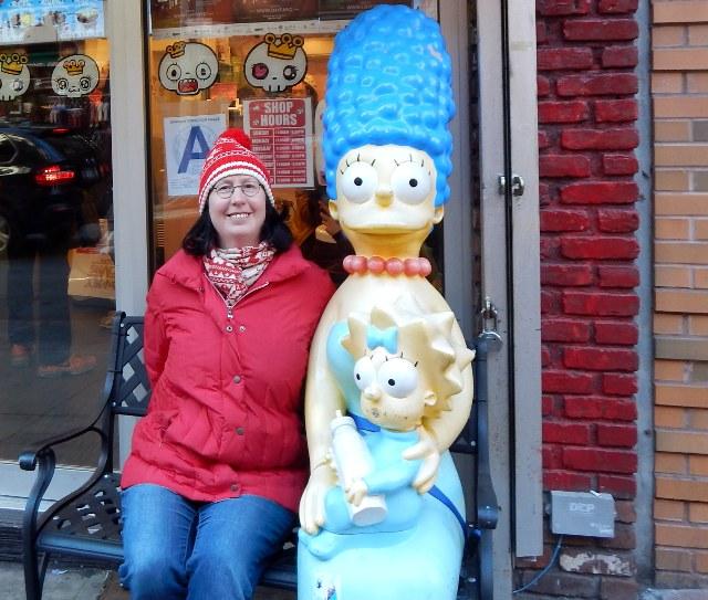 Marge Simpson und Maggie