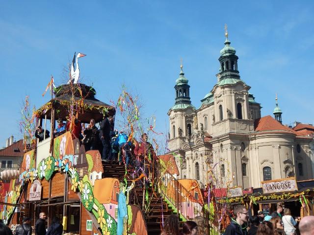 Ostermarkt Altstädter Ring Prag Ostern