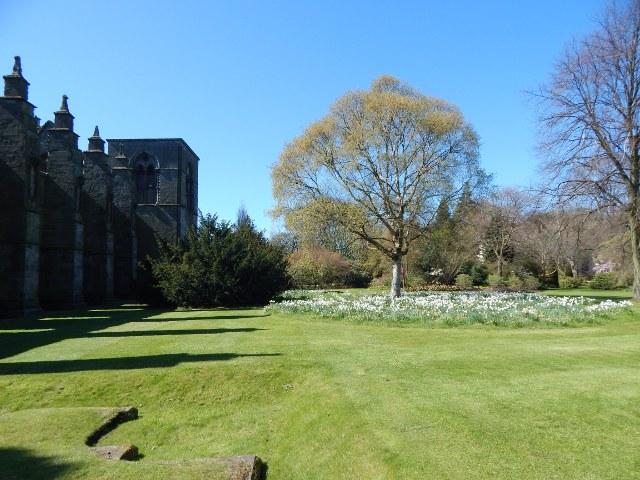 Schlosspark Holyrood House