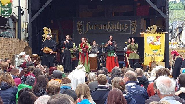 Musikbühne Mittelaltermarkt Oberwesel