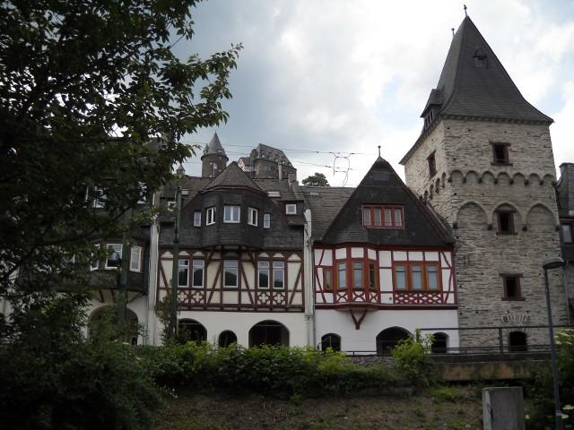 Oberwesel mit Schönburg