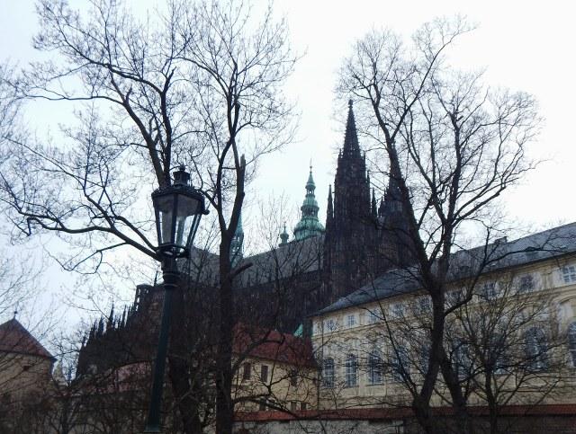 Prag Burg mit Veitsdom
