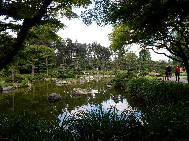 Japan in Düsseldorf japanischer Garten