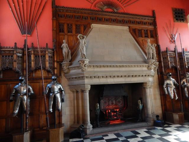 Great Hall Edinburgh, große Halle