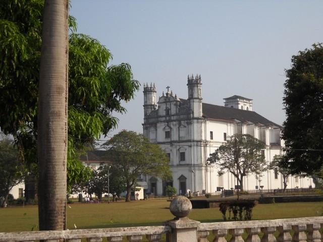 Kirche in Alt Goa Indien
