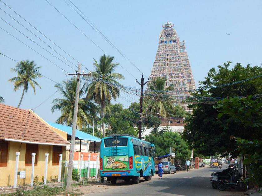 Der Srirangam Tempel Bei Trishy