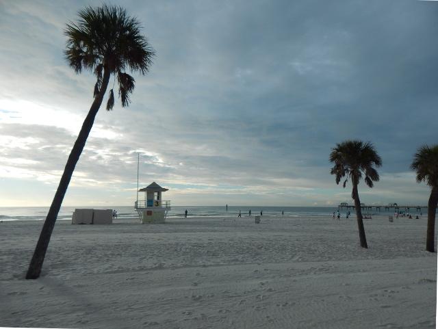 Puderzuckerstrand von Clearwater Beach