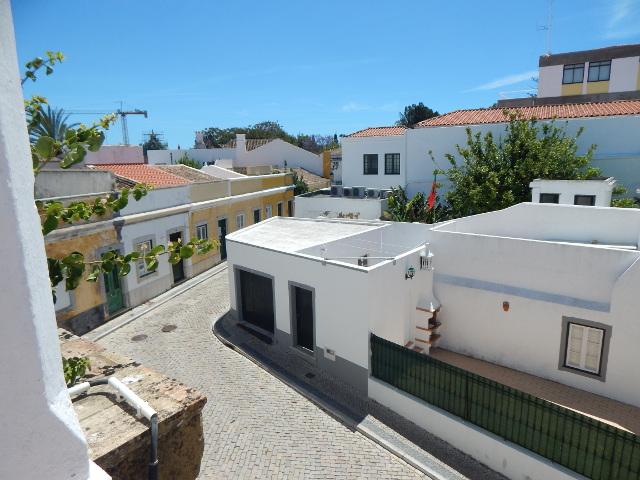 Die Altstadt in Faro von oben