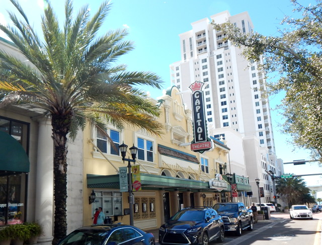 Das Capitol Theatre in Clearwater