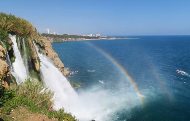 Die Düden Wasserfälle bei Antalya