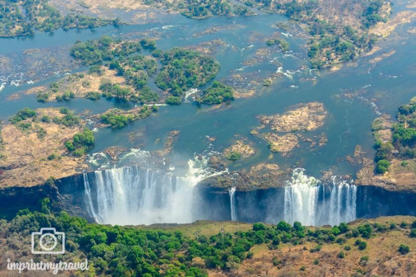 Die Viktoria Fälle, Wasserfälle in Afrika