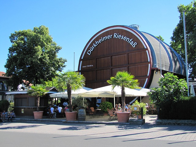 Das riesige Weinfass in Bad Dürkheim