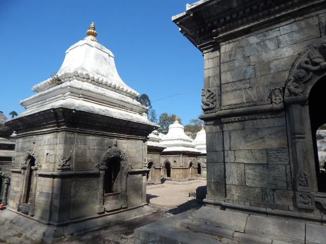 Schreine in Pashupatinath