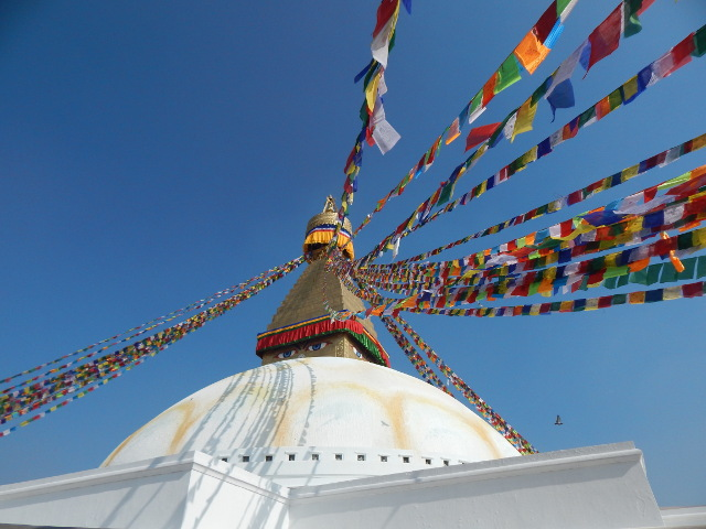 Bodnath Stupa in Kathmandu