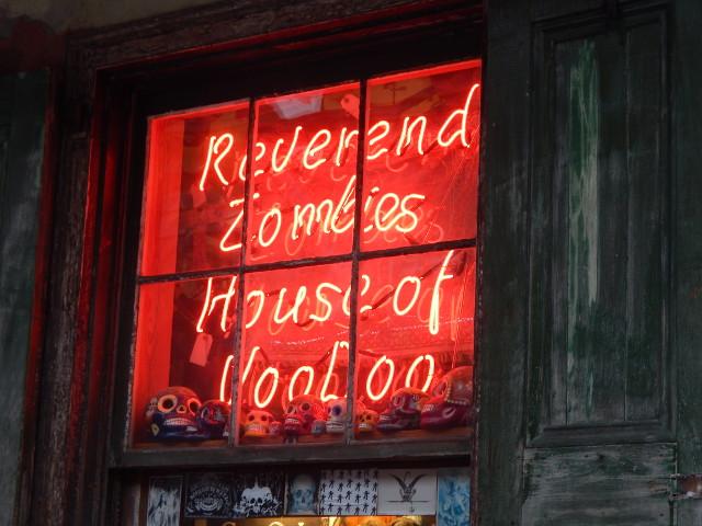 Reverend Zombies Voodoo Shop