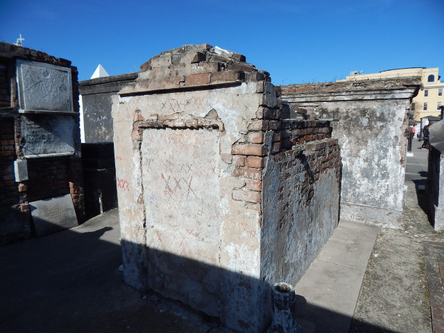 Grab auf dem Friedhof in New Orleans