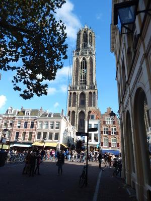 Der Dom St. Martinus in Utrecht.