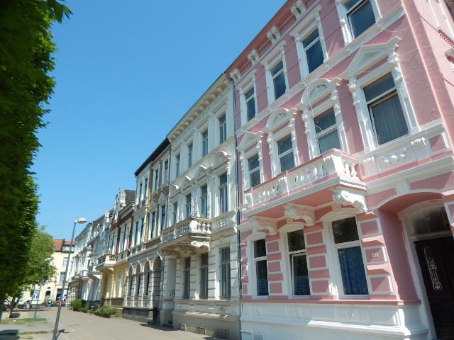 Schmucke Häuser in Krefeld