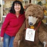 Großer Teddybär in St. Goar