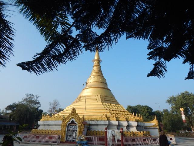 Die goldene Stupa von Myanmar.