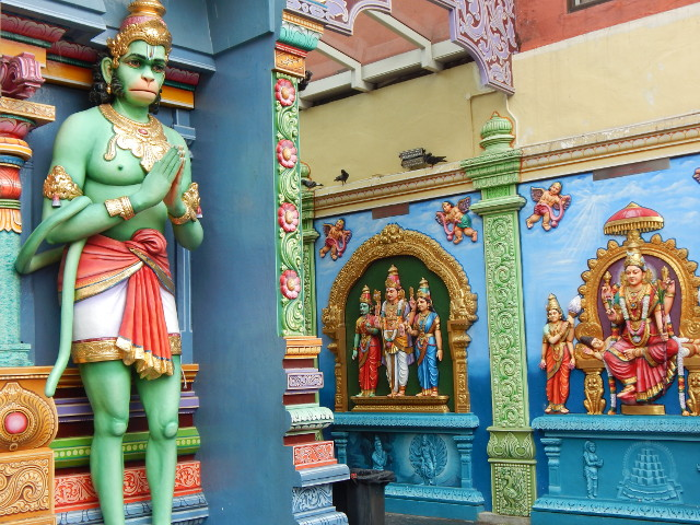 Hindutempel an der Serangoon Road