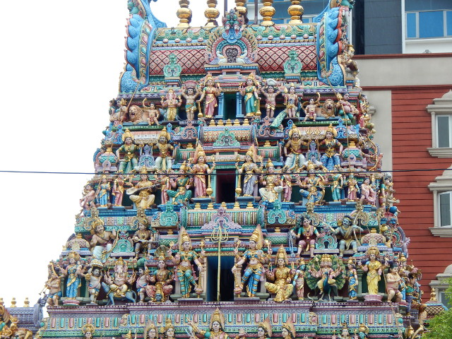 Sri Veeramakaliamman Tempel in Little India Singapur