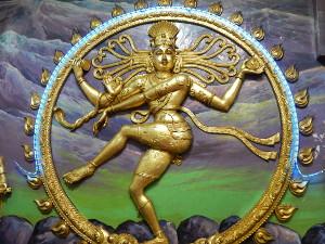 Die tanzende Gottheit