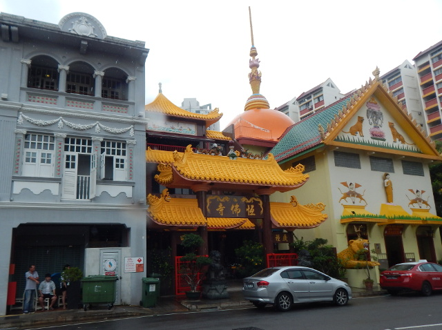 Buddhistischer Tempel Little India Singapur