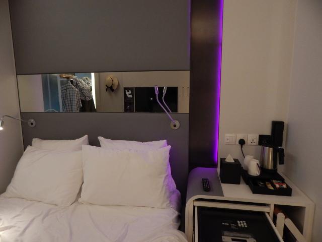 Zimmer des Yotel Singapur