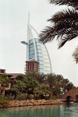 Das Luxushotel Burj al Arab