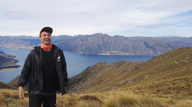 Marcel in Neuseeland
