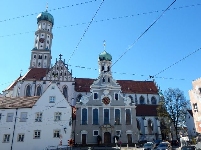 Basilika St. Ulrich und Afra, Augsburg Sehenswürdigkeiten.