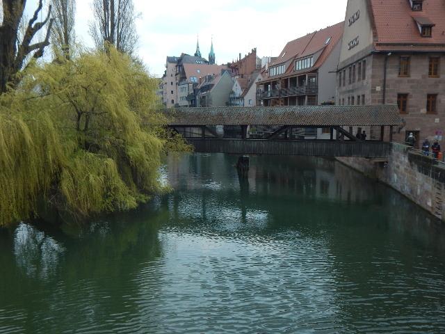 Die Henkerbrücke in Nürnberg, Sehenswürdigkeiten in der Altstadt.