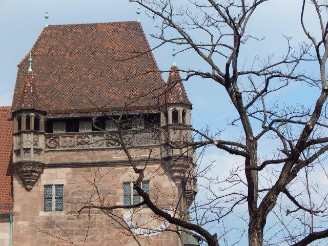 Das Nassauer Haus, Nürnberg Sehenswürdigkeiten.