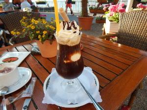 Leckerer Eiskaffee