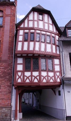 Das Torhaus in Oberlahnstein.