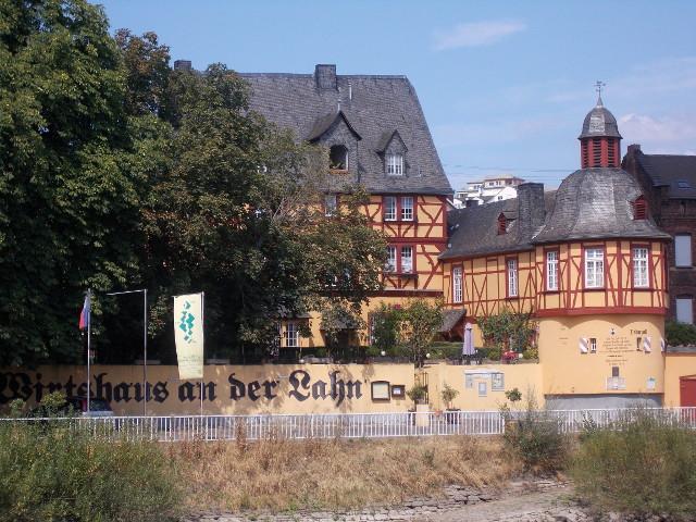 Das Wirtshaus an der Lahn, historisches Fachwerkhaus in Lahnstein.